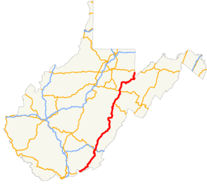 US 219 WV map.png