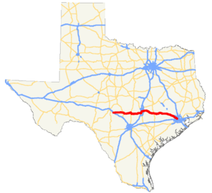 US 290 TX map.png