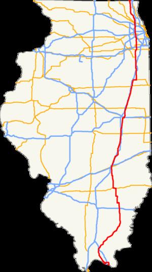 Peoria aansluiting