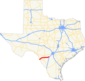 US 57 TX map.png