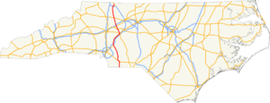 US 601 NC map.png