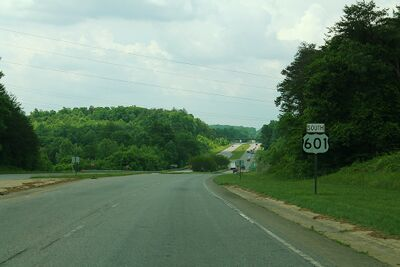 US 601 North Carolina.jpg