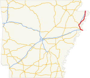 US 61 AR map.png