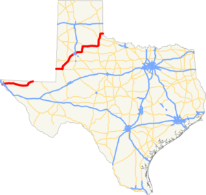 US 62 TX map.png