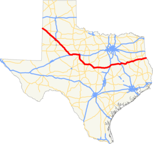 US 84 TX map.png