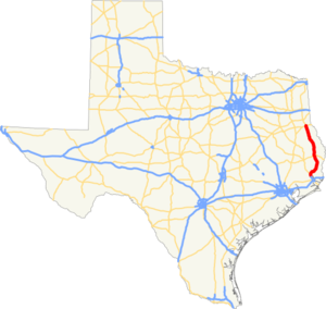 US 96 TX map.png