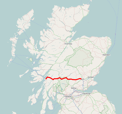 A85 UK Route.png