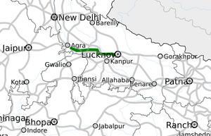 Agra - Lucknow Expressway map.png
