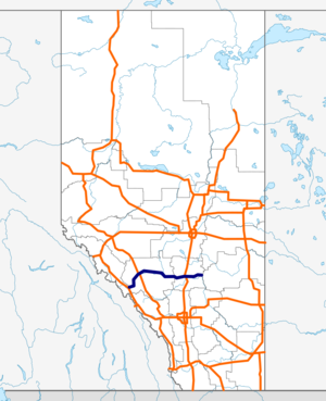 Alberta Highway 11 map.png
