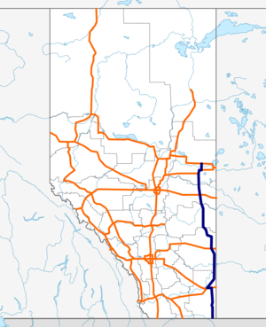 Alberta Highway 41 map.png