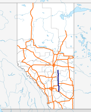 Alberta Highway 56 map.png