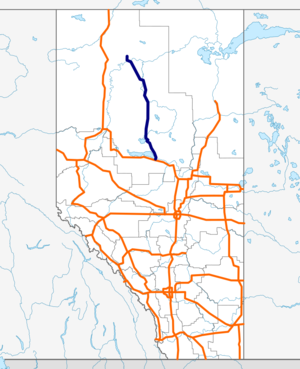 Alberta Highway 88 map.png