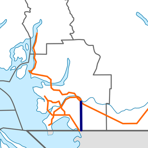 British Columbia Highway 15 map.png