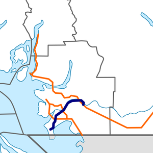 British Columbia Highway 17 map.png