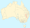 Castlereagh Highway map.png