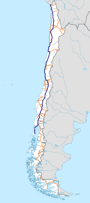Chile Ruta 5 map.png