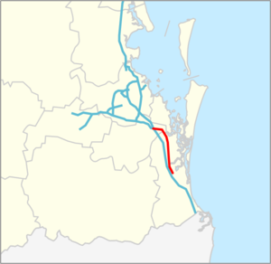 Coomera Connector map.png