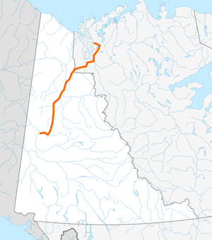 Dempster Highway map.png