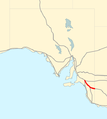 Dukes Highway map.png