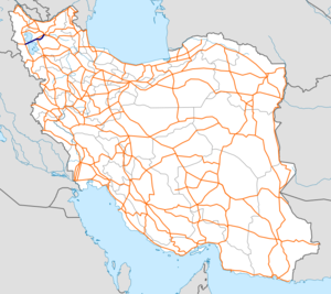 Freeway 16 Iran map.png