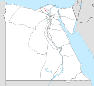 Highway 17 Egypt map.png