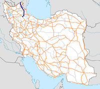 Highway 31 Iran map.png