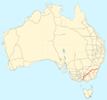 Hume Highway map.png