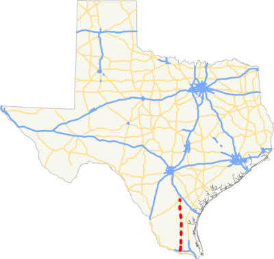 I-69C TX map.png