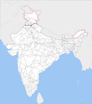 India NH5 map.png