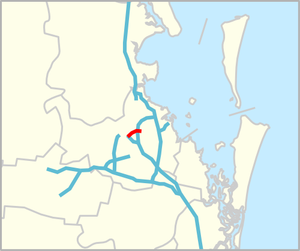 Inner City Bypass map.png