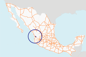 Libramiento de Tepic map.png