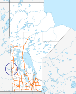 Manitoba Highway 49 map.png