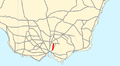 Melba Highway map.png