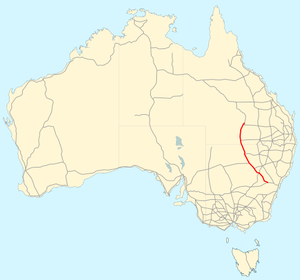 Mitchell Highway map.png