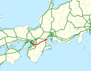 National highway 25 Japan map.png