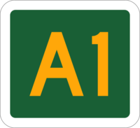 New South Wales alphanumeric route A1.png