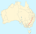 Newell Highway map.png