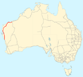 North West Coastal Highway map.png