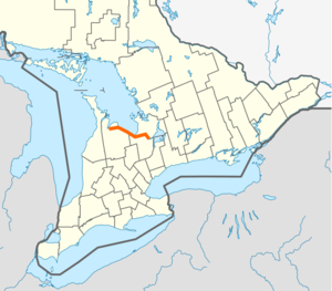 Ontario Highway 26 map.png