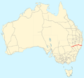 Oxley Highway map.png