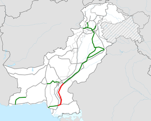 Pakistan M6 map.png