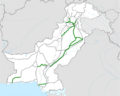 Pakistan highway map.png