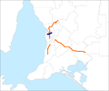 Port River Expressway map.png