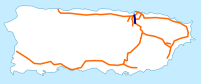 Puerto Rico Highway 18 map.png
