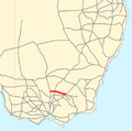 Riverina Highway map.png