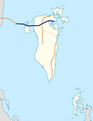 Sheikh Isa Bin Salman Highway map.png