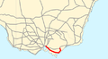 South Gippsland Highway map.png