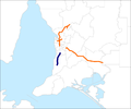 Southern Expressway Australia map.png