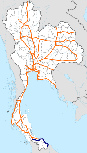 Thailand Route 42 map.png