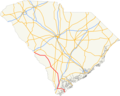US 278 SC map.png